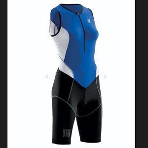 CEP Triathalon Skinsuit, Compression, High Neck, L
